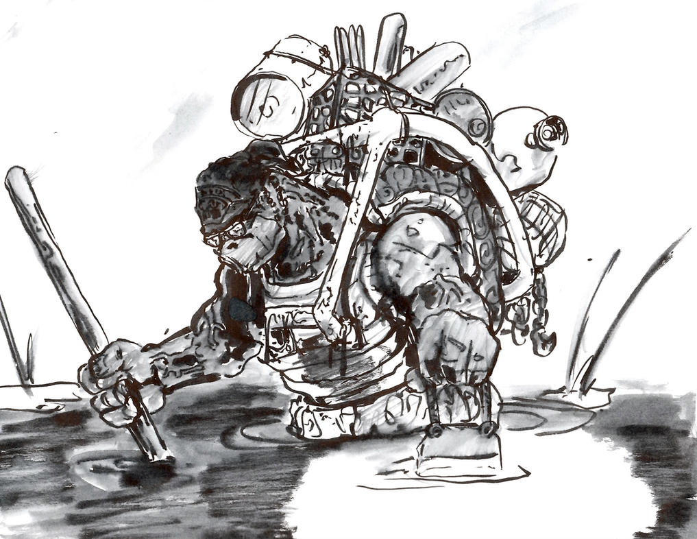 inktober scrap