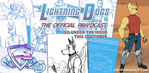 Lightning Dogs Paw'dcast Preview: Dingo by lightningdogs