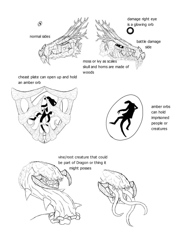 Fan Concept: Plant Dragon by lightningdogs
