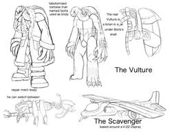 Fan Concept: The Vulture by lightningdogs