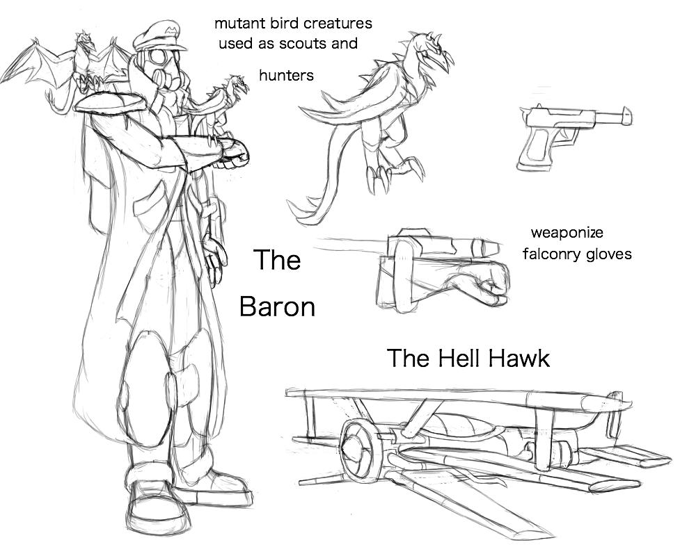 Fan Concept: The Baron by lightningdogs