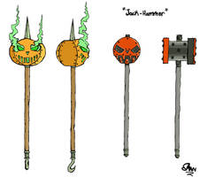 Fan Concept: Jack-Hammer by lightningdogs