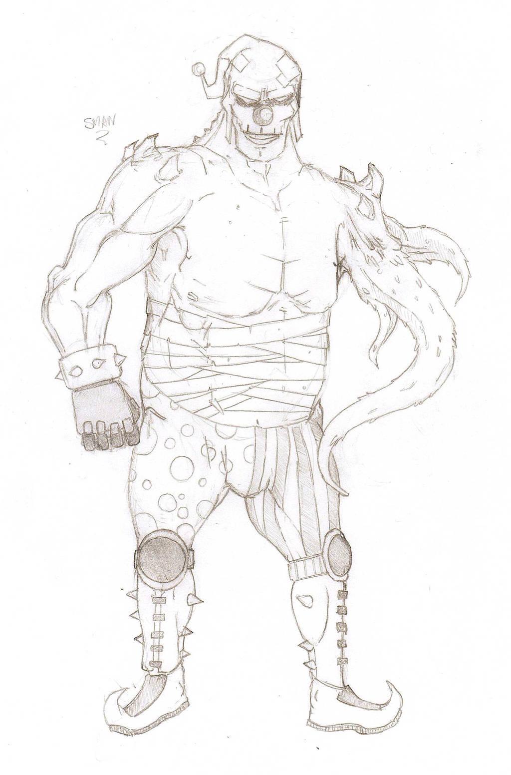 Fan Concept: Gut Buster by lightningdogs