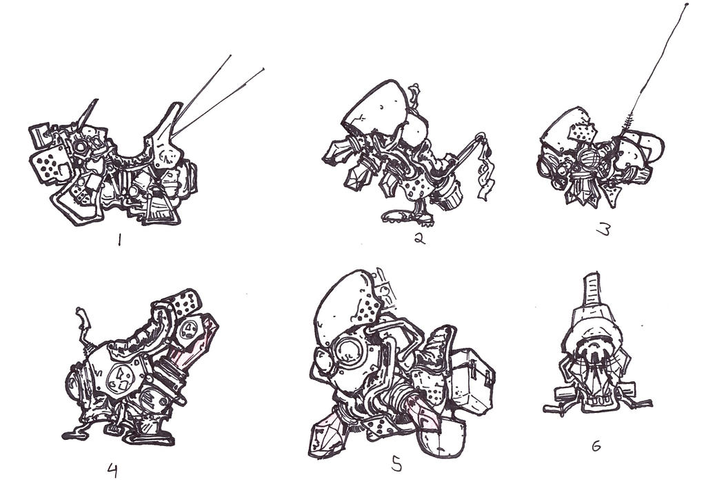 Hoverbike Concepts by lightningdogs