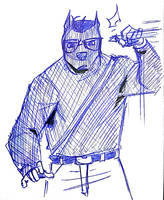 Old Sketch: Adventure Kane by lightningdogs