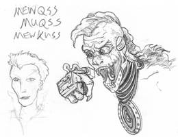 Sound Ape Sketch by Cap by lightningdogs