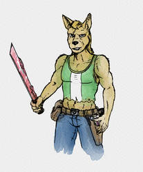 Wasteland Dingo by lightningdogs