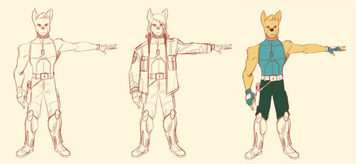Dingo / Wasteland Dingo - Early Turnaround Rough by lightningdogs