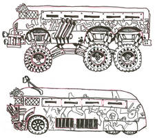 Ghoul Bus Concepts 1 by lightningdogs