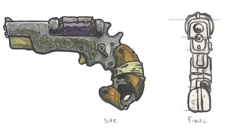 Halloween Jack's Pistol by Max Acree