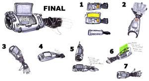 Kid's Gauntlet Concepts by Cap Blackard