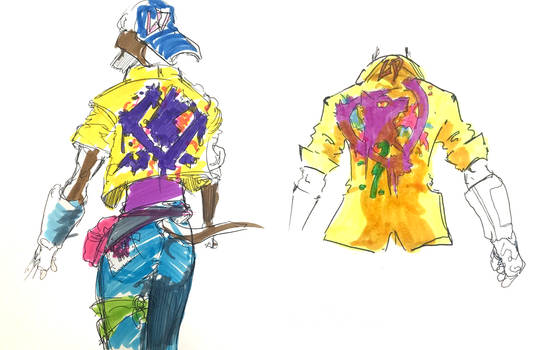 Concepts for Kid's Jacket by Max Acree