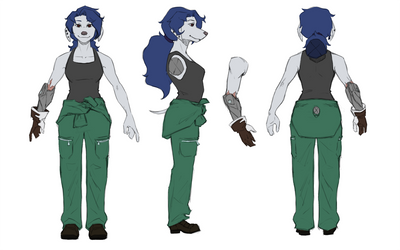 Narisa Turnaround by Untethered Studios