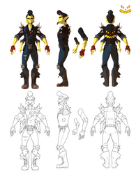 Halloween Jack Turnaround by Untethered Studio