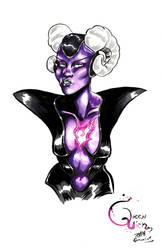 Queen Lich by Kempo Cornelius