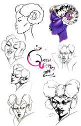 Queen Lich Expressions by Kempo Cornelius