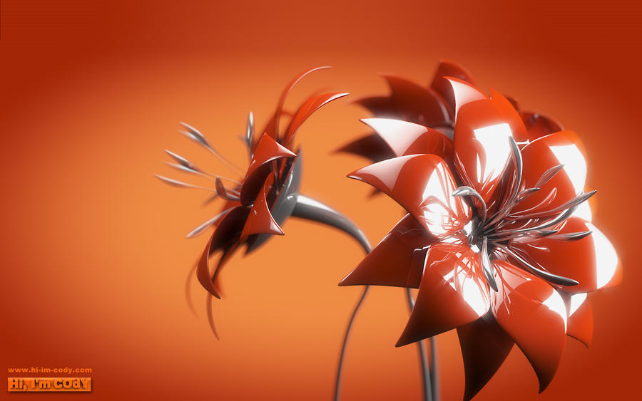 Metal FLower Bouquet by Bouryokudan on DeviantArt