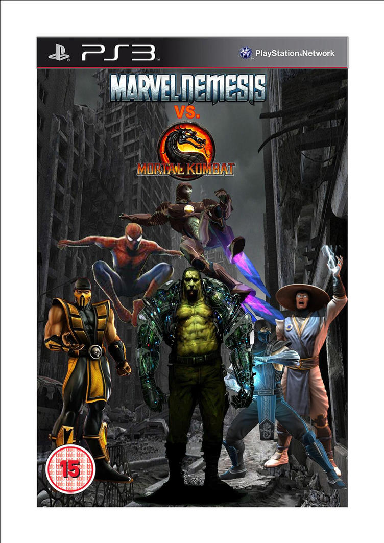 mortal kombat vs marvel game wwwimgkidcom the image