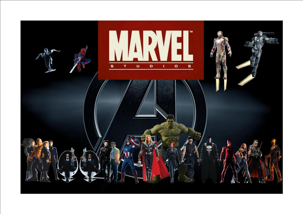 Marvel Movies By Justiceavenger