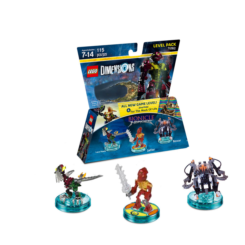 Lego Dimensions Bionicle Heroes Level Pack By