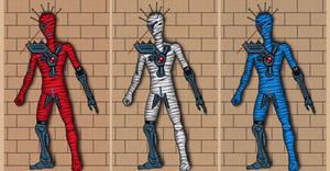 Cyborg mummy