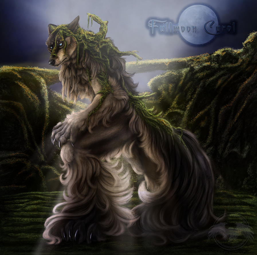 ...::: FMC - Aldur the Mosswolf :::... by AmorpheusArt
