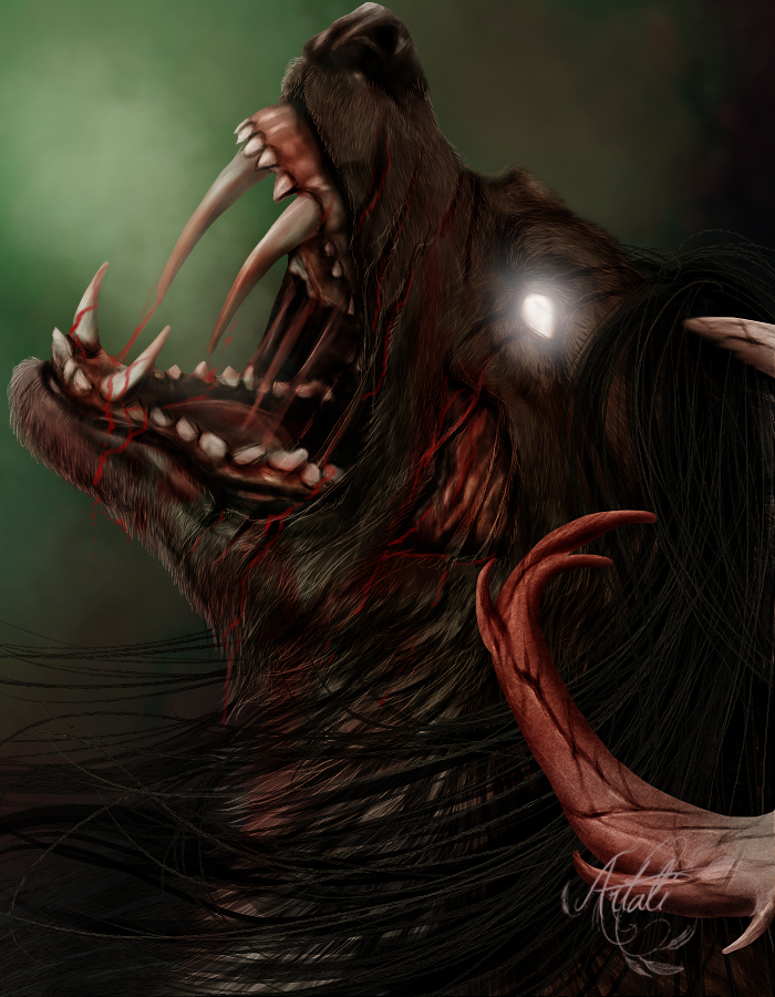 Sinpurr Halloween Headshot - CM by Artali-Artist