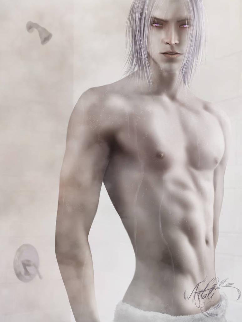 Just took a shower - CM by Artali-Artist