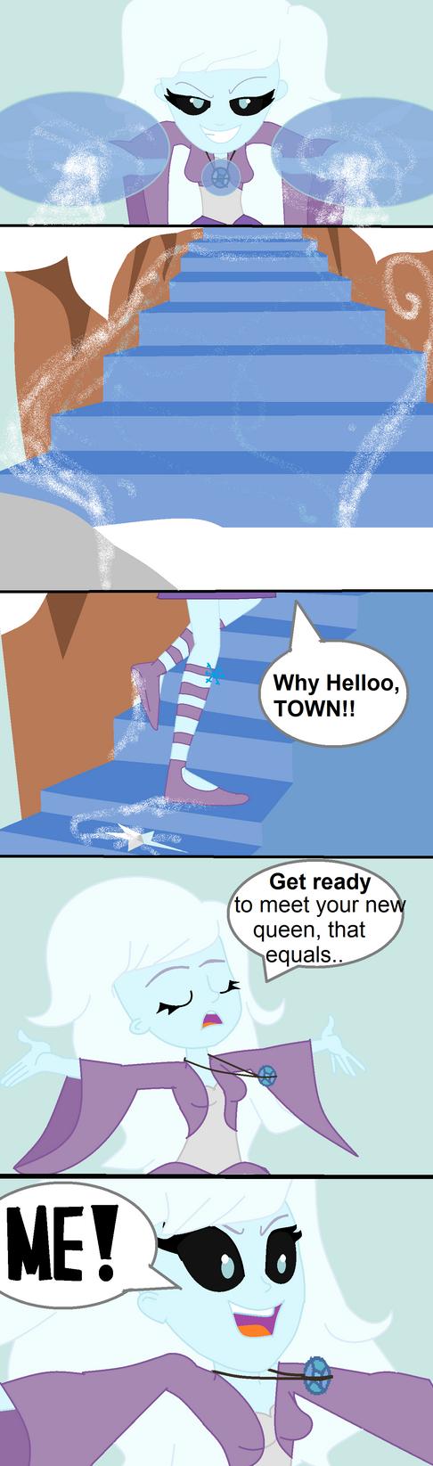 Snow Queen Building a Staircase- Teaser by zahadyozivaji
