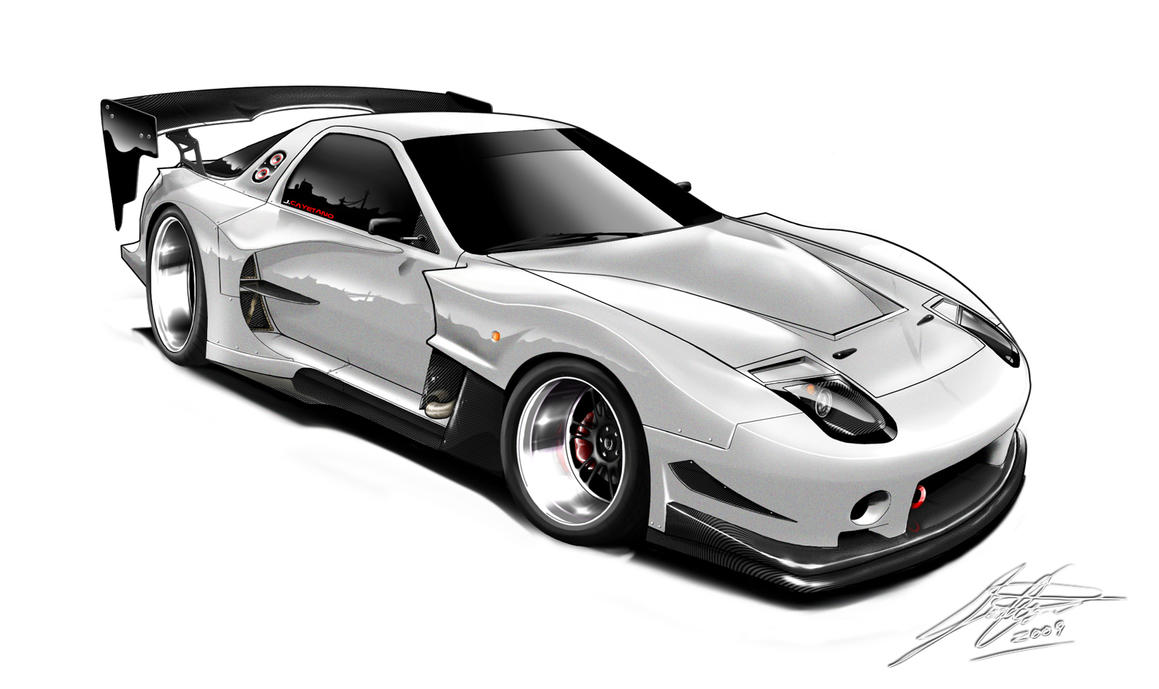 Fc3s Gtc Widebody Concept By Wingsofwar On Deviantart