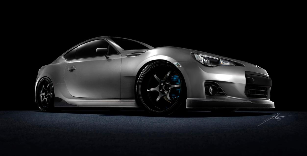 All Types brz sti parts : Subaru BRZ Aero Parts & Body kit renderings