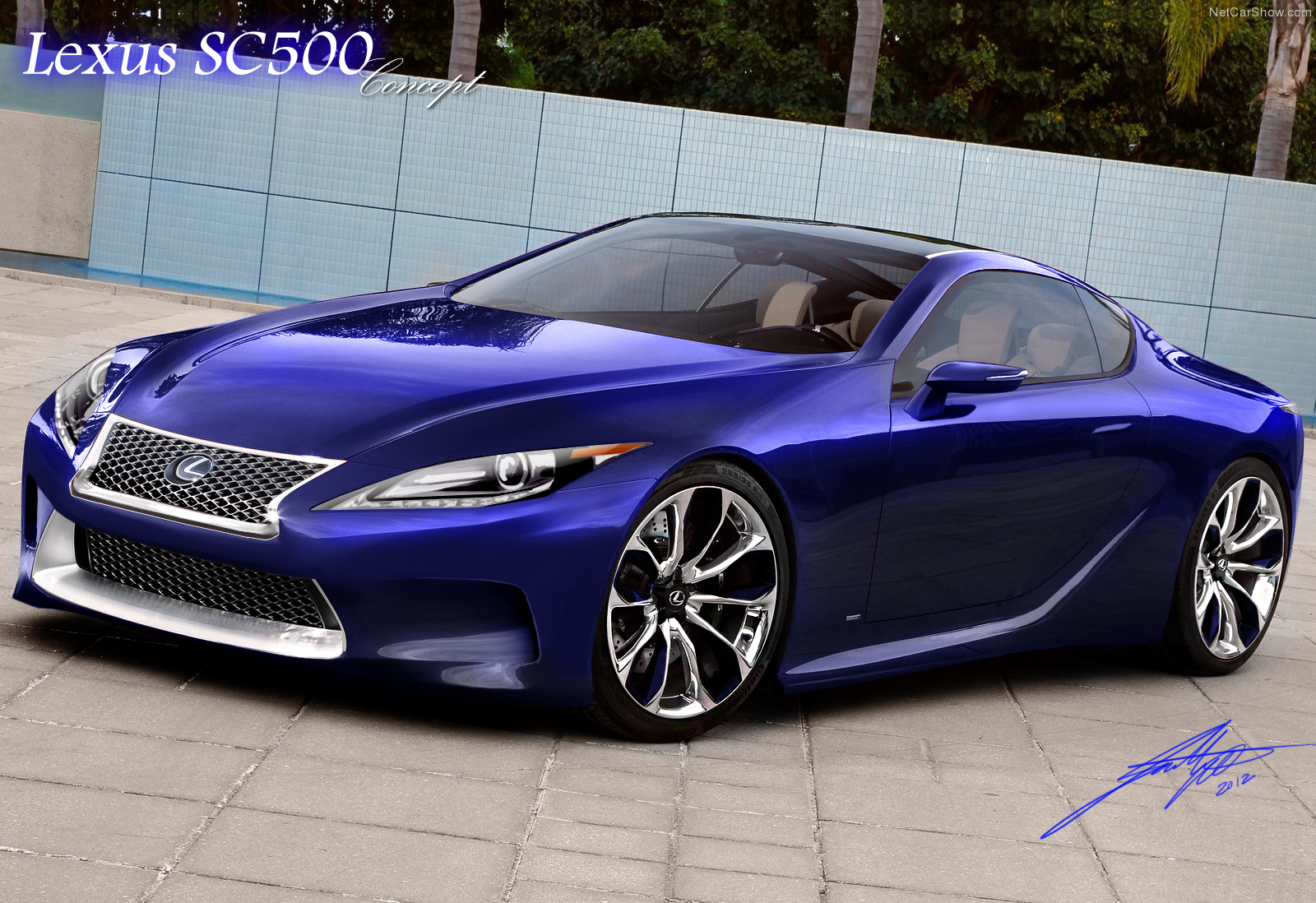 Lexus SC500 Concept by wingsofwar on DeviantArt