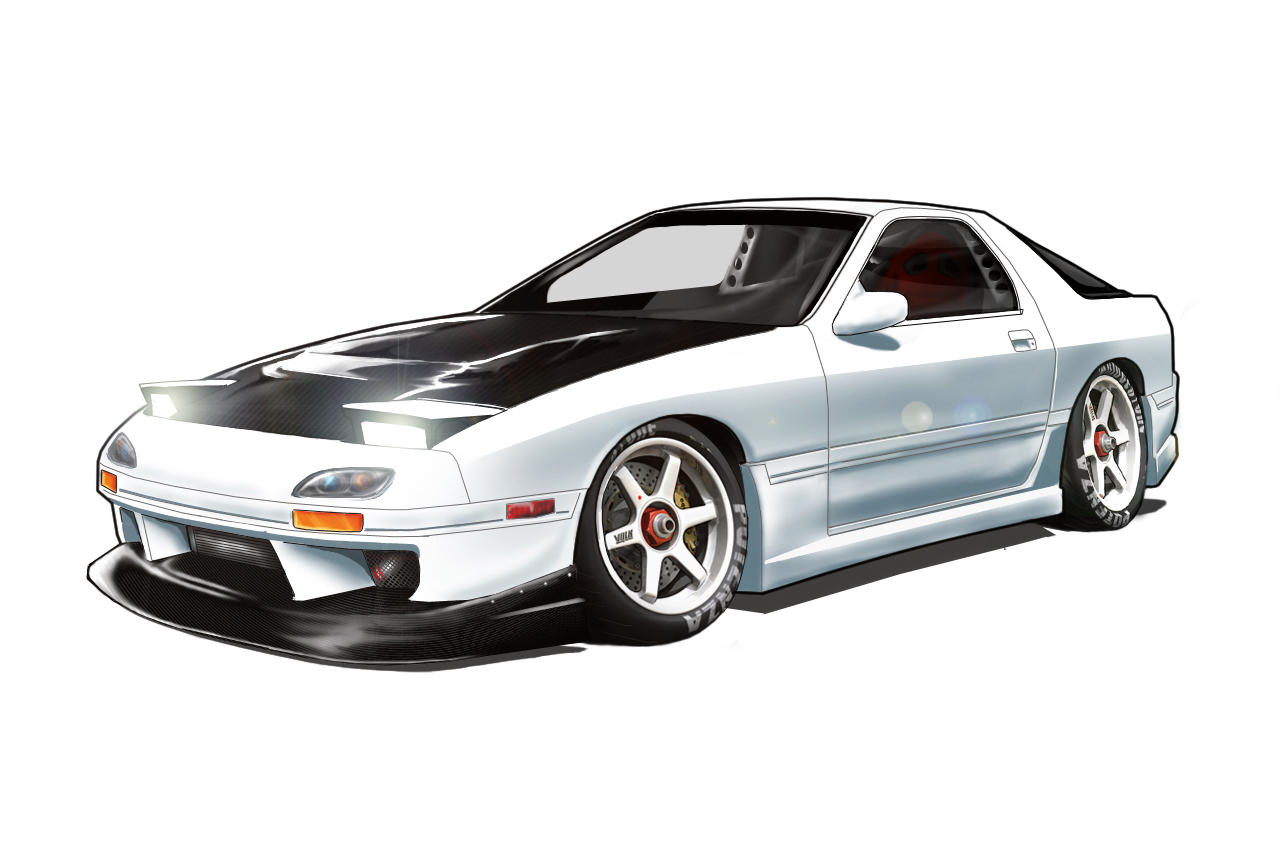 It's just an image of Resource Mazda Rx7 Drawing