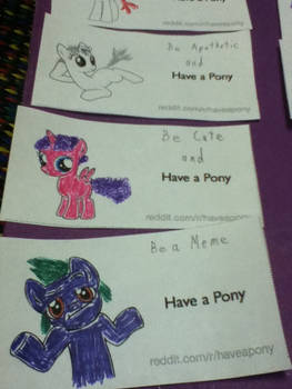 Have a pony contest 11.3