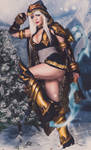 Beauty as Ashe ( League of Legends) 4