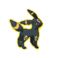 Umbreon Sprite V1 by Kevfin