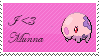 I Heart Munna Stamp by Kevfin