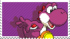 Yoshi Purple Stamp by Kevfin