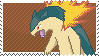 Typlosion Stamp by Kevfin