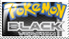Pokemon Black Version En Stamp by Kevfin