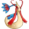 Collab: Milotic Sprite by Kevfin