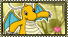 Dragonite Stamp