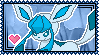Glaceon Stamp by Kevfin