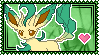 Leafeon Stamp by Kevfin