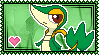 Snivy Stamp by Kevfin