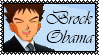 Brock Obama Stamp by Kevfin