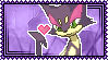 Purrloin Stamp by Kevfin