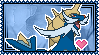 Samurott Stamp by Kevfin