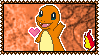 004 Charmander Stamp by Kevfin