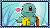 007 Squirtle Stamp